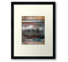 Abstract Composition/Abstraction With Clouds and Sky — July 9, 2010 Framed Print