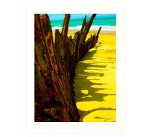 90 mile shipwreck - Trinculo series 3 Art Print