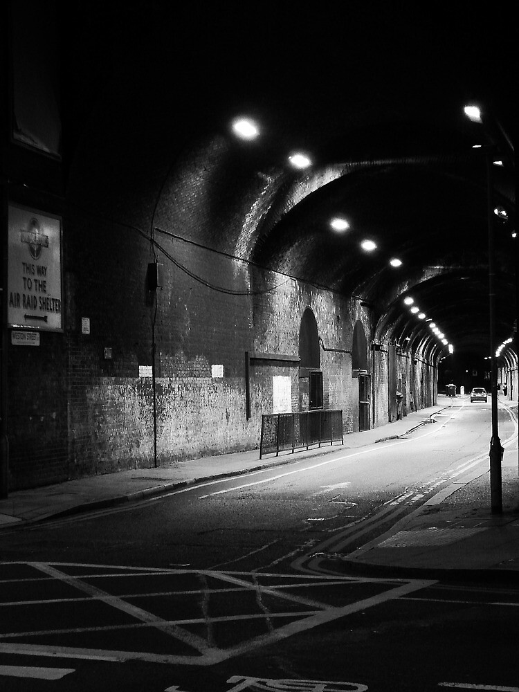 This Way To The Air Raid Shelter by duncandragon