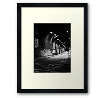 This Way To The Air Raid Shelter Framed Print