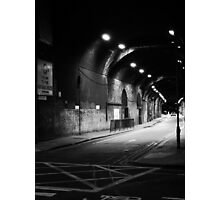 This Way To The Air Raid Shelter Photographic Print