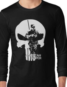 AMERICAN SNIPER CHRIS KYLE THE DEVIL OF RAMADI THE LEGEND Long Sleeve T-Shirt