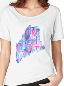 Pine Tree State Women's Relaxed Fit T-Shirt