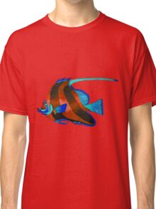 Red odd fish painting Classic T-Shirt