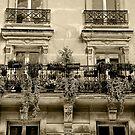 Parisian Mosaic - Piece 12 - French Balcony by Igor Shrayer