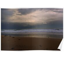Serene Beach - Great Ocean Road Poster