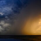 Darwin Sunset Storm by Briony  Williams Photography