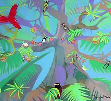 Eight Branches Over Ocho Rios by Denise Weaver Ross