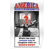 America Wants To Know #19 Poster