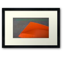 A Touch of Green..... Framed Print
