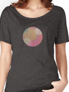 Colorful Flower Bursts Women's Relaxed Fit T-Shirt