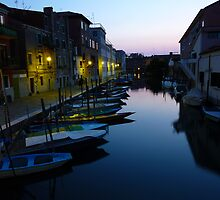 A Venetian's Venice at Dusk by Keith Richardson
