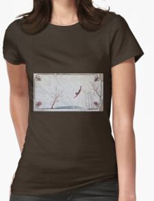 Tomb of the Diver, Paestum Womens Fitted T-Shirt