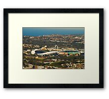 Mini Moore Park - Sydney Framed Print