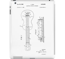 electric guitar from 1959 iPad Case/Skin