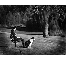 Pooch Photographic Print