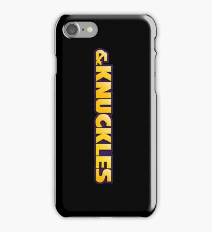 & Knuckles iPhone Case/Skin