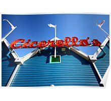 Cicerello's, Fremantle Harbour, Western Australia Poster