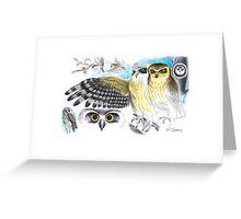 Southern Boobook Owl Greeting Card