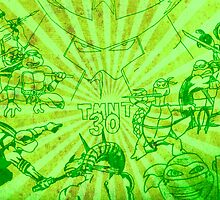 Tmnt 30th anniversary by wil2liam4