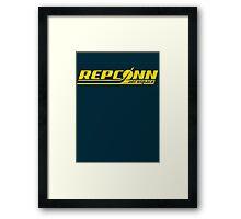 Repconn Framed Print