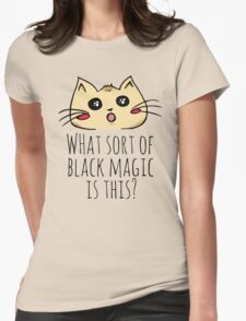 what kind of black magic is this? - kitty T-Shirt
