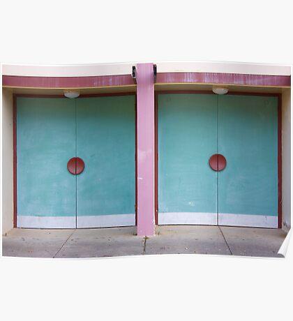 two doors Poster