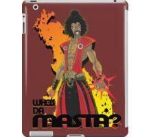 Sho'nuff the Shogun of Harlem iPad Case/Skin