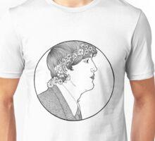 flower in his hair Unisex T-Shirt