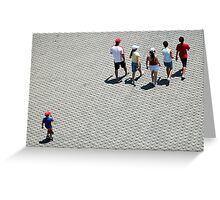 Follow the Leaders Greeting Card