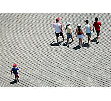 Follow the Leaders Photographic Print