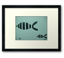 fishes with mika Framed Print