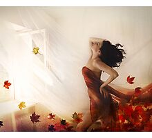 autumn wind Photographic Print