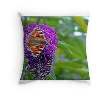 Fractal Flutterby Throw Pillow