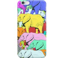 Elephants Parade iPhone Case/Skin
