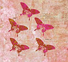 Butterflies Colour A by Vitta
