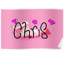For someone named Chris Poster