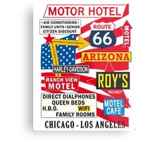 USA Route 66 Print Posters Decoration Metal Print