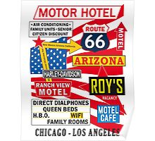 USA Route 66 Print Posters Decoration Poster