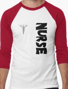Nurse Men's Baseball ¾ T-Shirt