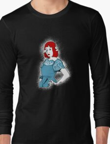 Her Resolute Reflection Long Sleeve T-Shirt