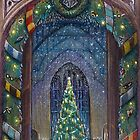 Christmas in Hogwarts by illustore