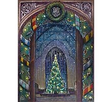 Christmas in Hogwarts Photographic Print