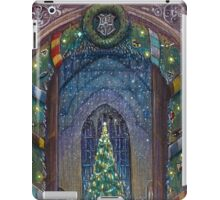 Christmas in Hogwarts iPad Case/Skin