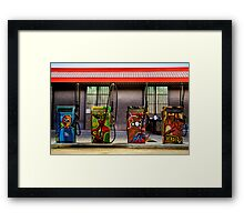 Pump Art - HDR Framed Print