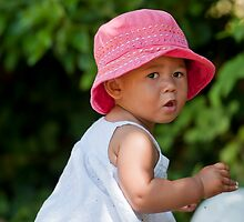 Beauty in a Red Hat by DonDavisUK