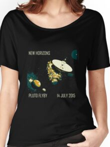 New Horizons Pluto Flyby 14 July 2015 Women's Relaxed Fit T-Shirt