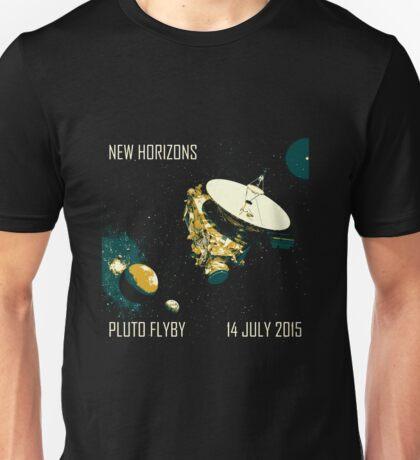 New Horizons Pluto Flyby 14 July 2015 Unisex T-Shirt
