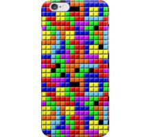 Tetris Inspired Retro Gaming Colourful Squares iPhone Case/Skin