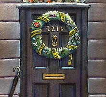 Sherlock Christmas 221 b by illustore